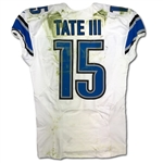 Golden Tate 11/15/2015 Detroit Lions Game Used Road Jersey - Photo Matched (NFL/PSA,RGU)