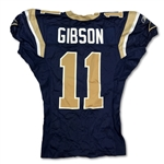 (4) St. Louis Rams Game Used Home Jerseys - R. Thomas, L. Ramsey, B. Gibson & T. Steussie