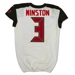 Jameis Winston 10/15/17 Tampa Bay Buccaneers Game Used Jersey - Photo Matched, BCA Patch (RGU)