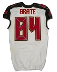 Cameron Brate 10/15/2017 Tampa Bay Buccaneers Game Used Jersey - Photo Matched, Unwashed, Touchdown