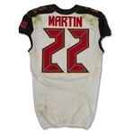 Doug Martin 10/15/2017 Tampa Bay Buccaneers Game Used Jersey - Photo Matched, Unwashed