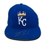 Jorge Soler Game Used Kansas City Royals Baseball Hat (Solger COA)