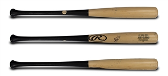 Jose Iglesias Game Used & Signed Two-Towned Rawlings Pro LDM Bat (Iglesias LOA)