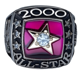 "Ivan ""Pudge"" Rodriguez 2000 MLB All-Star Game Ring - #1 in All-Star Votes (Player LOA)"