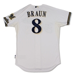Ryan Braun Milwaukee Bucks Game Used & Signed Jersey (Schneider Collection)