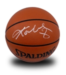 Kobe Bryant Signed Official NBA Game Basketball - Rare White Ink - JSA (Jamal Anderson Collection)