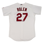 Scott Rolen St. Louis Cardinals Game Used & Signed Jersey (Schneider Collection)