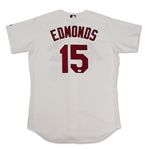 Jim Edmunds St. Louis Cardinals Game Used & Signed Jersey (Schneider Collection)