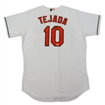 Miguel Tejada Baltimore Orioles Game Used & Signed Jersey (Schneider Collection)