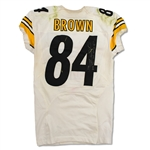 Antonio Brown 9/12/16 Steelers Game Used & Signed Jersey - 2 TDs! Twerk Celebration, Photo Matched (RGU)
