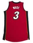 Dwyane Wade 2013-14 Miami Heat Game Used Road Jersey (Miedema LOA)