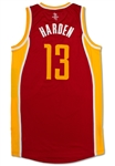 James Harden 2013-14 Houston Rockets Game Used Road Jersey (Miedema LOA)