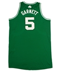 Kevin Garnett 2010-11 Boston Celtics Game Used Road Jersey (Miedema LOA)