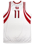 Yao Ming 2004-05 Houston Rockets Game Used Home Jersey (Miedema LOA)