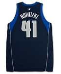 Dirk Nowitzki 2002-03 Dallas Mavericks Game Used Road Jersey (Miedema LOA)