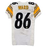 Hines Ward 11/28/10 Pittsburgh Steelers Game Used & Signed Jersey - Photo Matched, Filthy (Ward LOA)