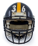 Jerome Bettis Pittsburgh Steelers Game Used 97 Season & AFC Championship Game Helmet - Photo Matched to Multiple Games (RGU, Erik Williams LOA)
