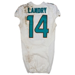 Jarvis Landry 10/9/2016 Miami Dolphins Game Used Jersey - Photo Matched (NFL COA)