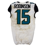 Allen Robinson 10/23/2016 Jacksonville Jaguars Game Used Jersey - Unwashed (NFL Auctions)