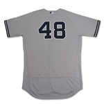 Andrew Miller 2016 New York Yankees Game Used/Issued Road Jersey (MLB Auth)