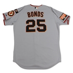 Barry Bonds 2007 San Francisco Giants Game Used Jersey & Long Sleeve Undershirt (Miedema LOA)