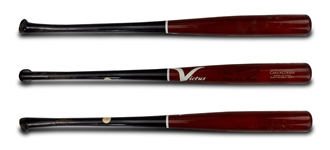 Carlos Correa 2016 Game Used & Signed Victus Custom Axe Model BJ27 Bat - Photo Matched (Correa Sr. LOA)