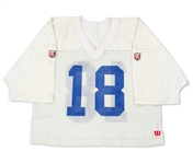 Peyton Manning 1999 Indianapolis Colts Practice Worn Jersey - Photo Matched (Colts Pro Shop LOA)