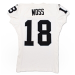 Randy Moss 2006 Oakland Raiders Game Used Road Jersey