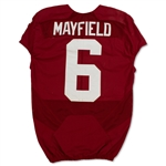 Baker Mayfield 2016 Oklahoma Sooners Game Used Home Jersey - Photo Matched to 5 Games! (Fanatics/OU COA)
