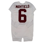 Baker Mayfield 2015 Oklahoma Sooners Game Used Road Jersey - Photo Matched to 4 Games! (Fanatics/OU COA)