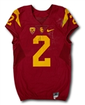 Adoree Jackson 10/24/15 USC Trojans Game Worn Home Jersey - Photo Matched
