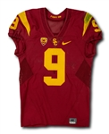 JuJu Smith-Schuster 10/8/2016 USC Trojans Game Worn Home Jersey - Unwashed, Photo Matched