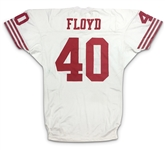 William Floyd 1995 San Francisco 49ers Game Worn Road Jersey (49ers LOA)