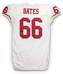 Bart Oates 1995 San Francicso 49ers Game Worn Road Jersey (49ers LOA)