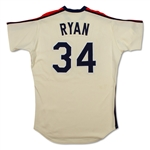 Nolan Ryan 1984-88 Houston Astros Game Worn Jersey (GF/MEARS A8)