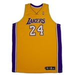 Kobe Bryant 2006-07 Los Angeles Lakers Game Worn & Signed Home Jersey - Solid Wear (MEARS A10/Lakers LOA)