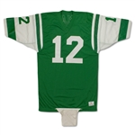 Joe Namath 1973-74 New York Jets Game Worn & Signed Home Jersey - Solid Provenance (JSA/100% Auth. LOA)