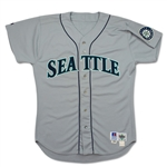 Ken Griffey Jr 1993 Game Used & Signed Seattle Mariners Road Jersey (Beckett/Griffey LOA)