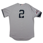 Derek Jeter Photo Matched 2009 ALL-STAR Game Used & Signed New York Yankees Road Jersey (PSA/SCP/Steiner)