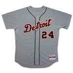 Miguel Cabrera 2012 TRIPLE CROWN Game Used & Signed Detroit Tigers Road Jersey - MVP Season (PSA/MEARS A10/Miedema)