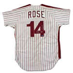 Pete Rose 1980 Game Worn Philadelphia Phillies Jersey (HA/MEARS A10)