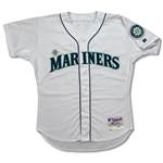 Ichiro Suzuki 2004 Seattle Mariners Signed Game Worn Home Jersey - Single Season Hit Record (MEARS A10/JSA/Ichiro COA)