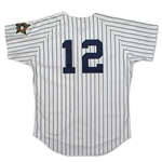 Wade Boggs Photo Matched 1993 All-Star Game Worn & Signed New York Yankees Pinstripe Jersey