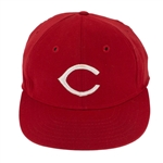 "Pete Rose 1975 WORLD SERIES Game Worn, Signed & inscribed ""1975 W.S."" Cincinnati Reds Cap Given to Fan Following Game 7 (HA/JSA)"
