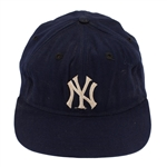 Thurman Munson 1970-76 New York Yankess Game Worn Cap (MEARS)