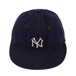 Phil Rizzuto 1946-48 New York Yankees Game Worn Spalding Cap (MEARS)
