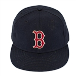 Wade Boggs Boston Red Sox Game Worn & Signed Cap - Ed Dolan Collection (PSA/JSA)