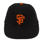 Willie Mays 1970-72 San Francisco Giants Game Worn & Signed Cap (MEARS LOA/JSA)
