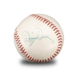 Dizzy Dean Single Signed ONL Giles Baseball (Beckett/JSA LOA)