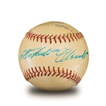 "One of The Worlds Finest Roberto Clemente Single Signed Baseball With PSA/DNA ""Mint 9"" Signature (PSA/DNA 7.5 NR MT-MINT Overall)"